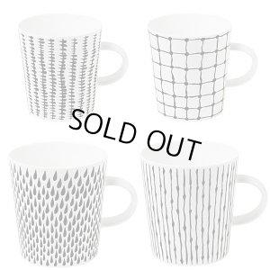 画像1: Bono Mugs with handle 【マグカップ(ハンドル付) 4ヶセット】